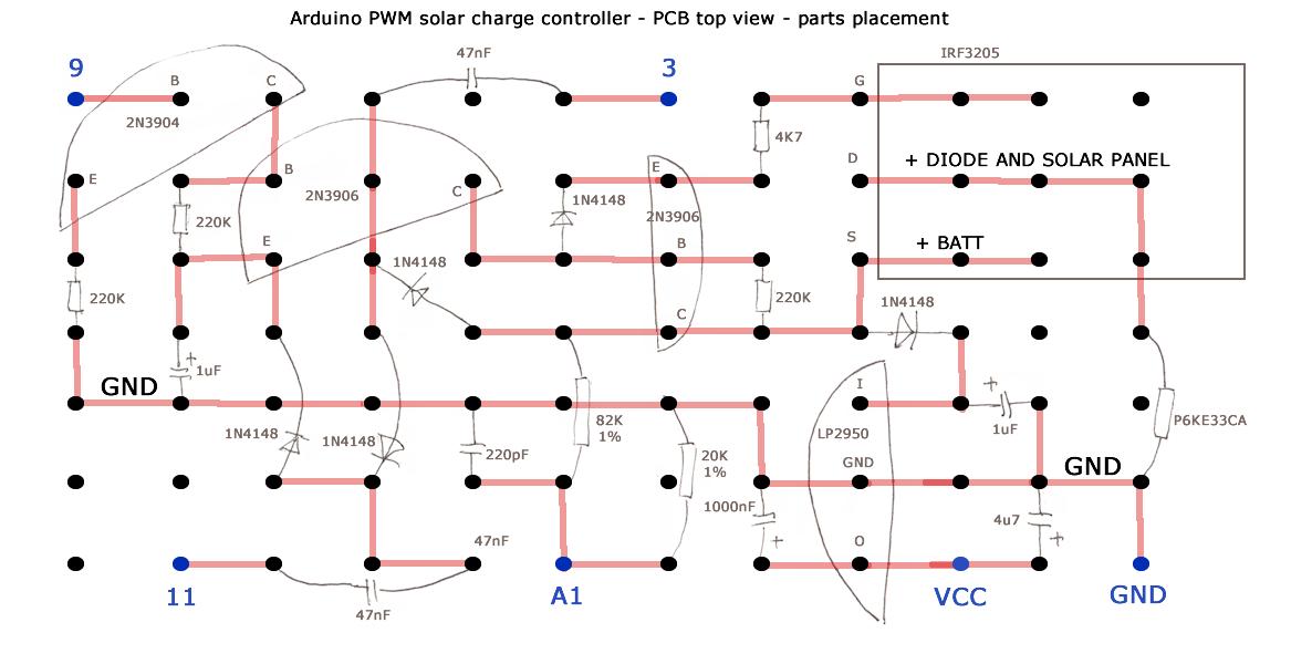 Arduino PWM solar charge controller | arduined eu