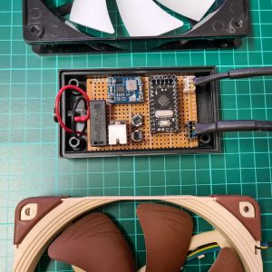Arduino PWM pc fan speed control